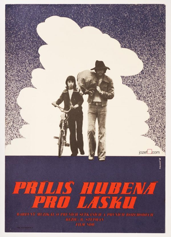 Film Poster, Too Skinny For Love, East German Cinema