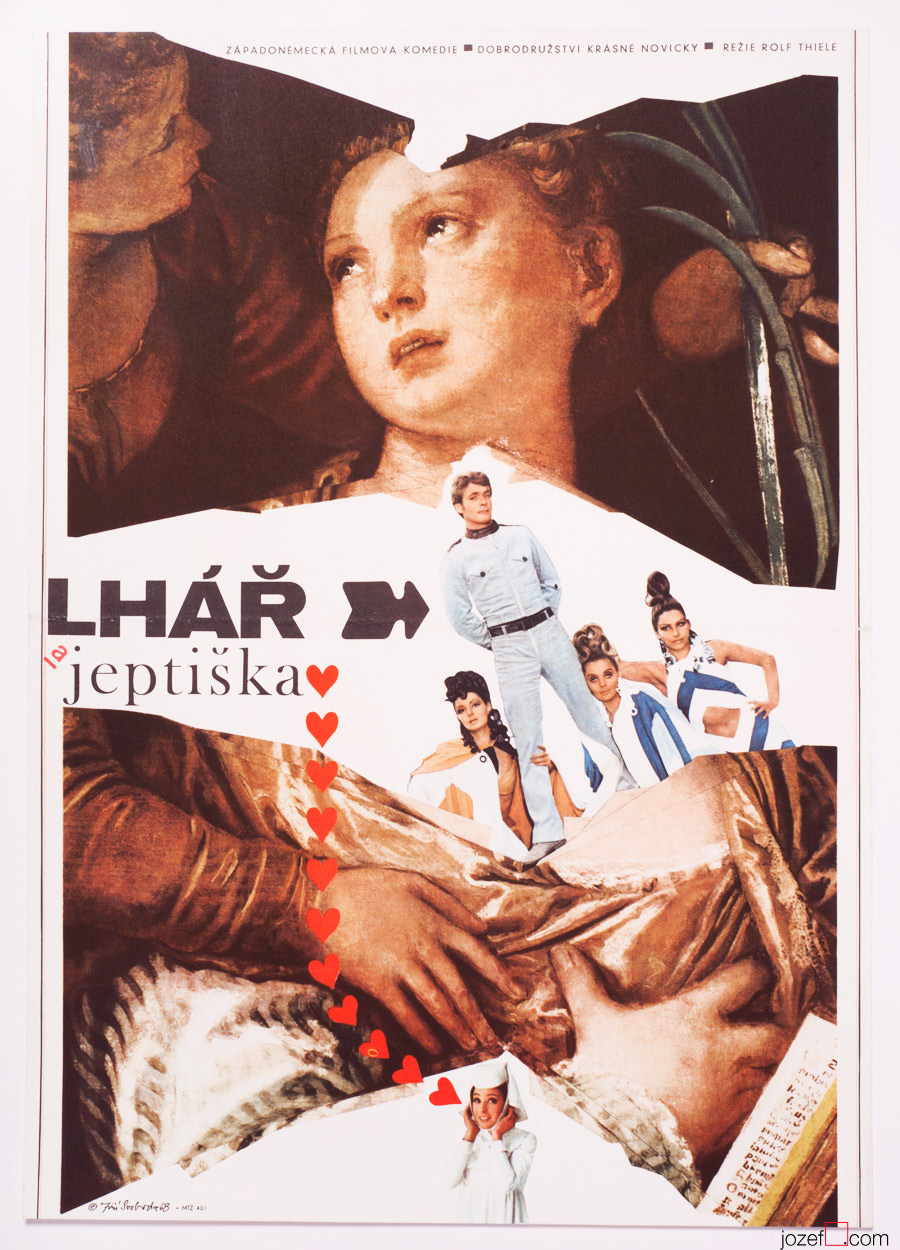 The Liar And The Nun, 60s Collage Poster