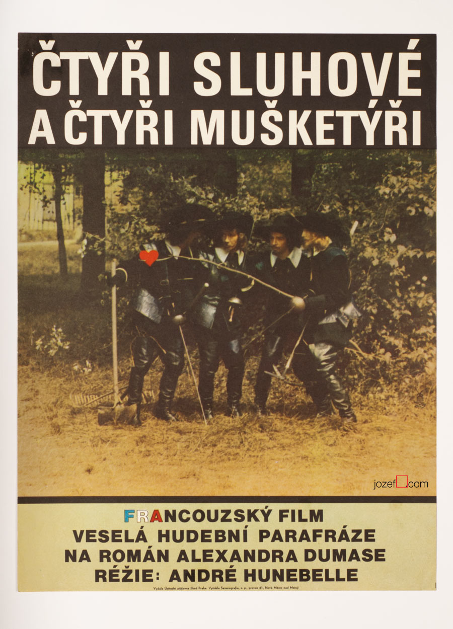 The Four Charlots Musketeers, Movie Poster