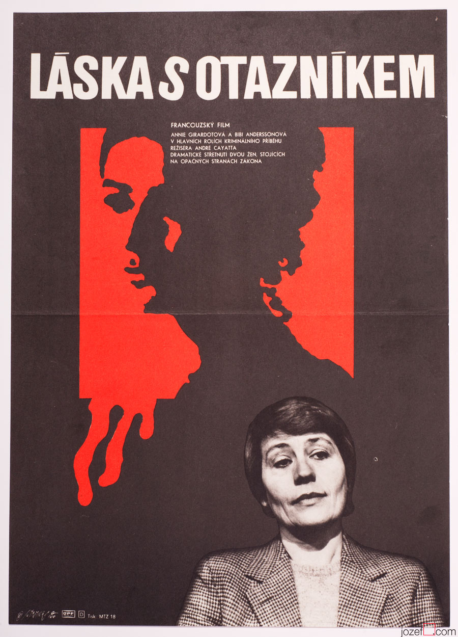Question Of Love Annie Girardot Film Poster