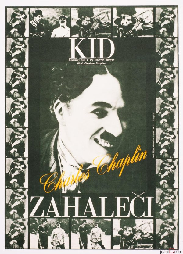 The Kid, Charlie Chaplin, Movie Poster