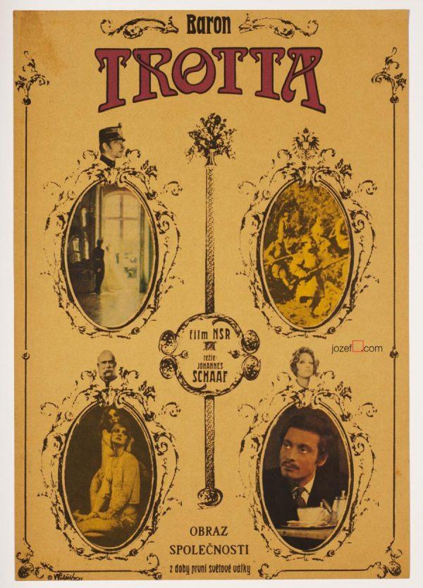 Trotta, 70s Movie Poster, German Cinema