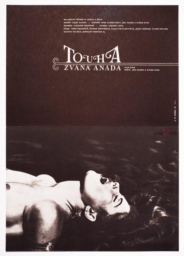 Adrift, Movie Poster, 70s Art Poster