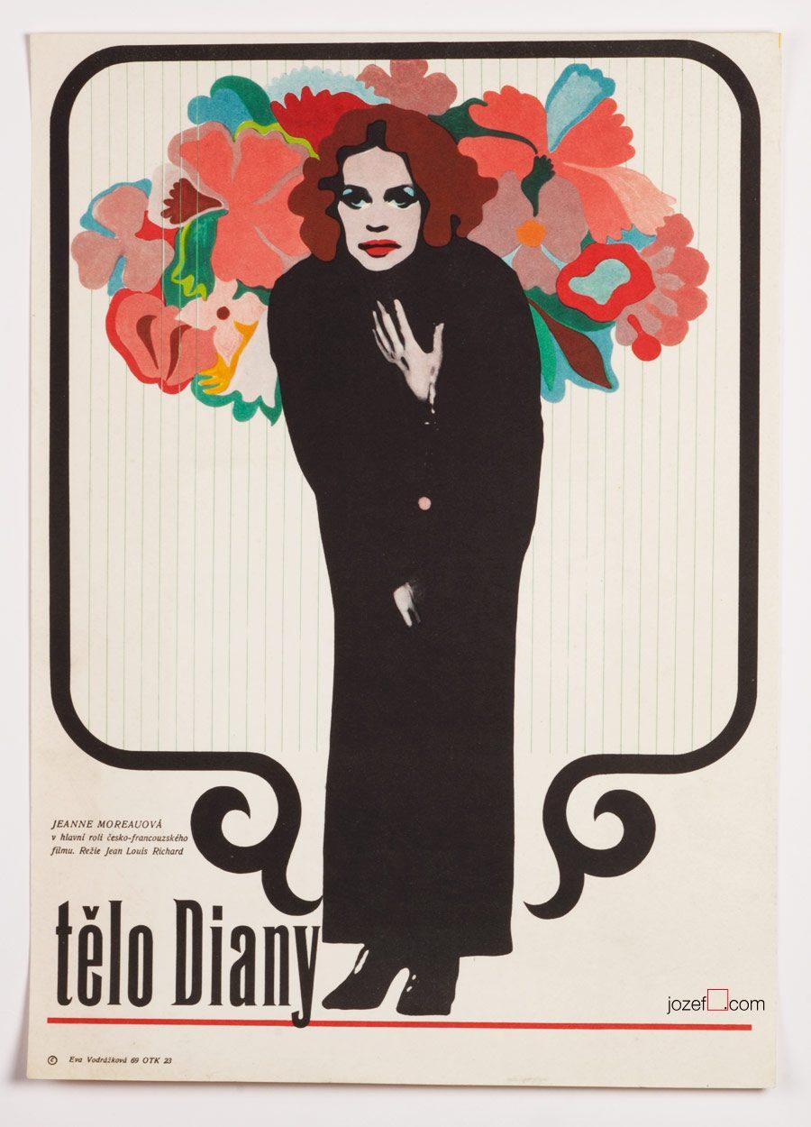 Diane's Body, 60s Poetic Movie Poster
