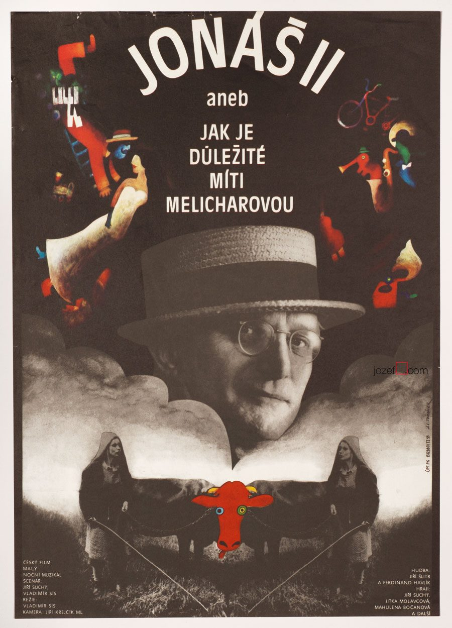Movie Poster, Jonas II, 80s Poster Art