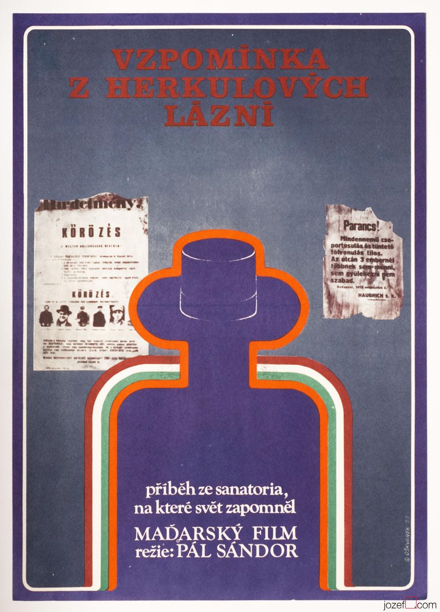 Movie Poster, Strange Masquerade, 70s Poster Art
