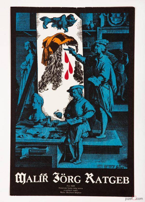 Jorg Ratgeb Painter, Karel Teissig Poster Art