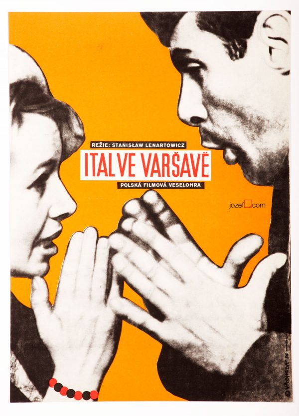 An Italian in Warsaw, 60s Poster Art