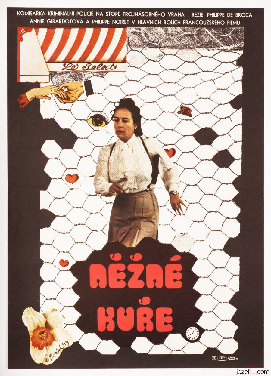 Dear Inspector, 70s Movie Poster