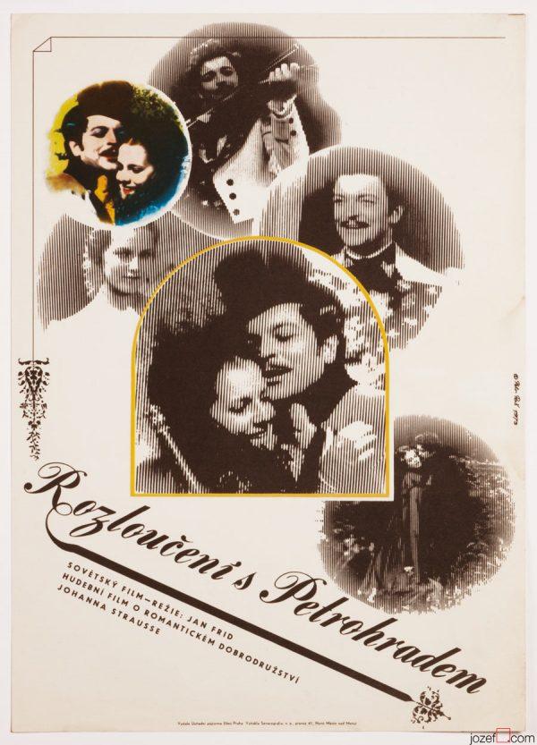 Farewell to Saint Petersburg, 70s Poster Art