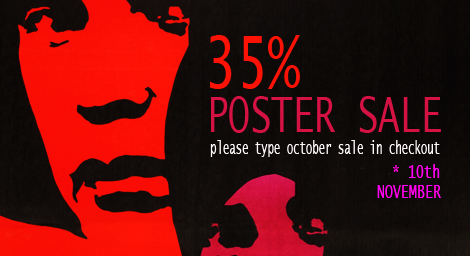 Movie Posters Sale, October Sale