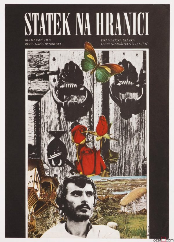 Collage Movie Poster, The Farm Near the Frontier