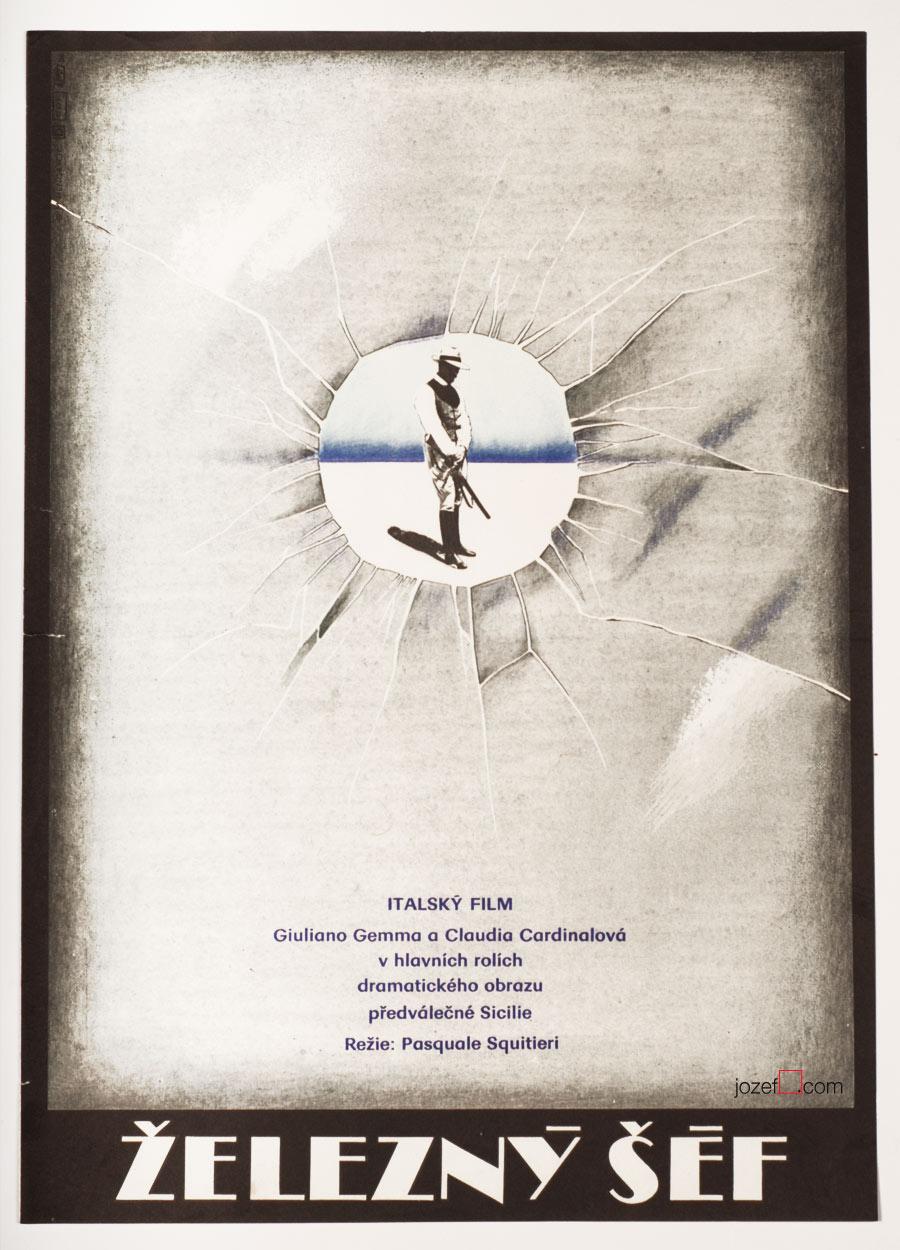 Corleone Movie Poster, 70s Art Poster