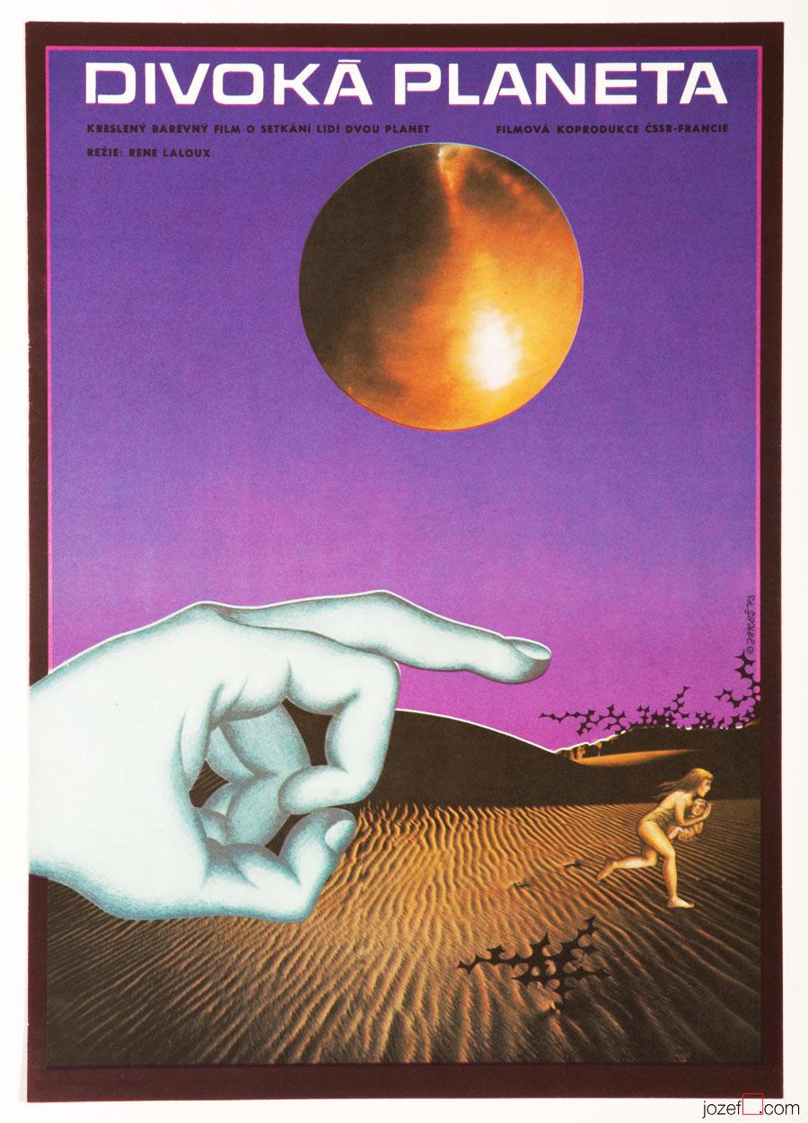 Fantastic Planet, Movie Poster, Sci-fi Poster Art