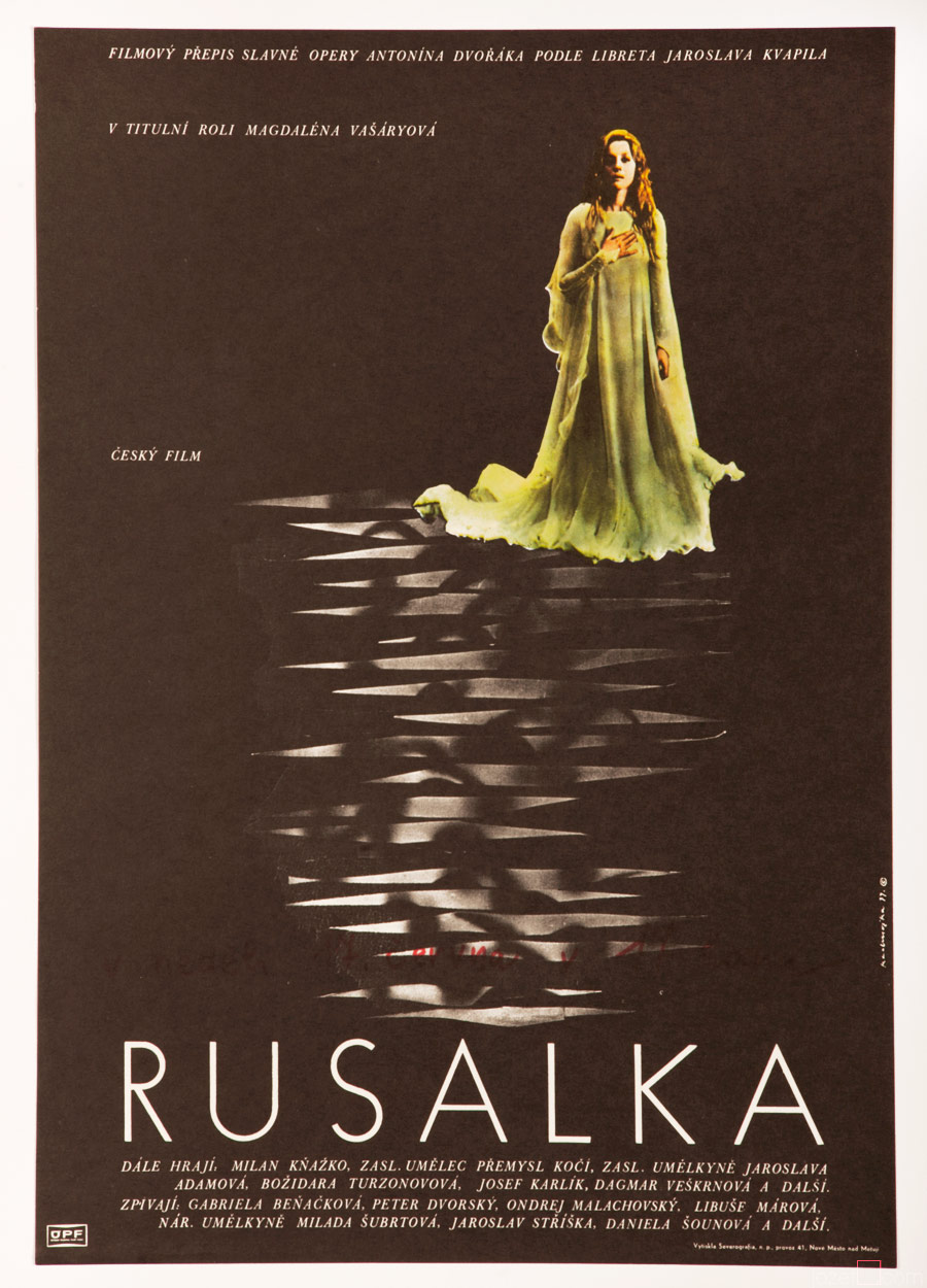 Rusalka, Movie Poster, 70s Poster Art