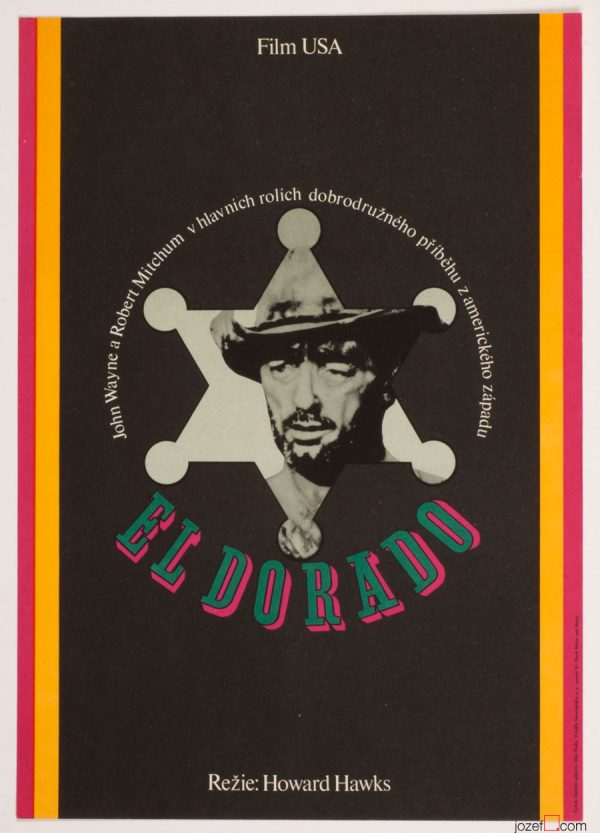 El Dorado, John Wayne, Wester Movie Poster