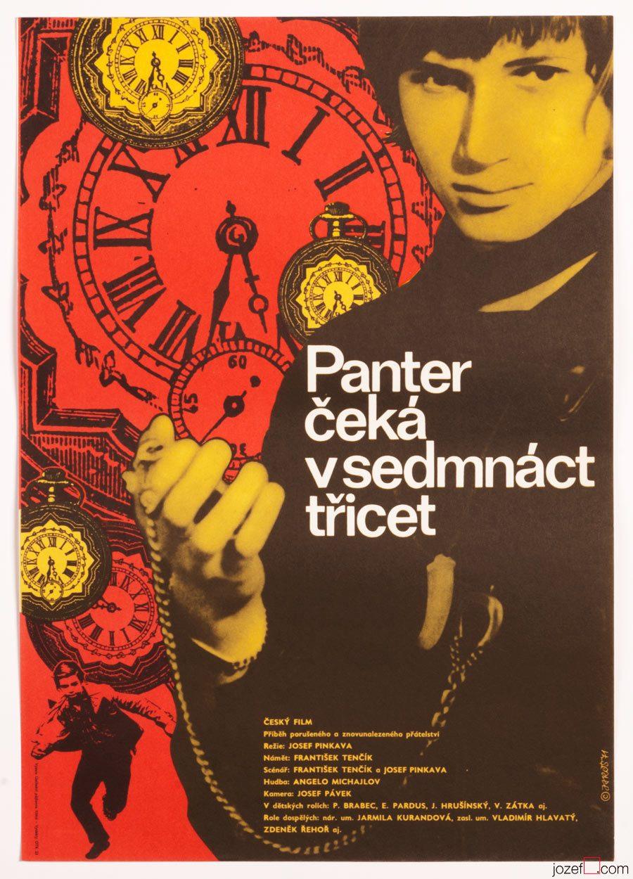 Kids Movie Poster, Panther Waits at 17.30