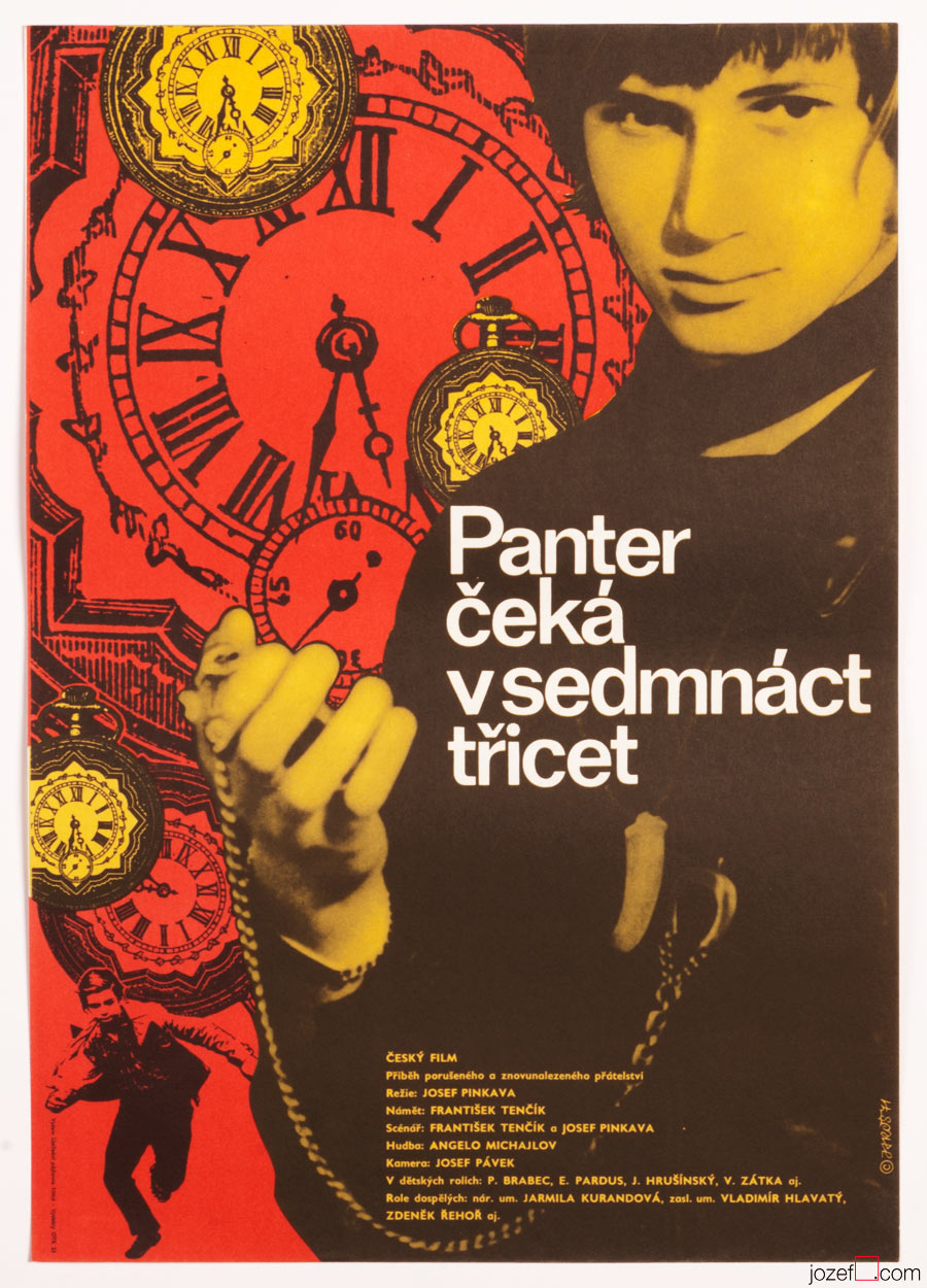 Kids Movie Poster, Panther Waits at 17.30