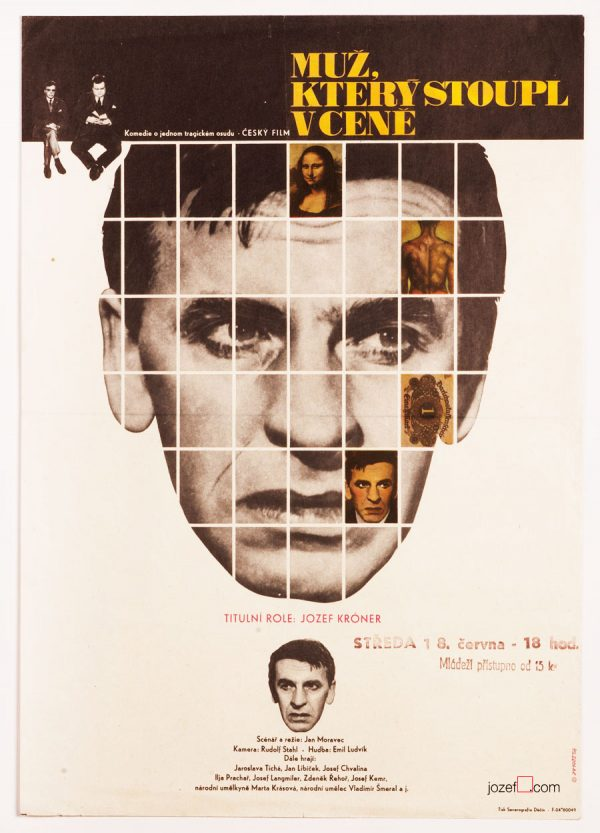 Movie Poster, The Man Whose Price Went Up, 60s Poster