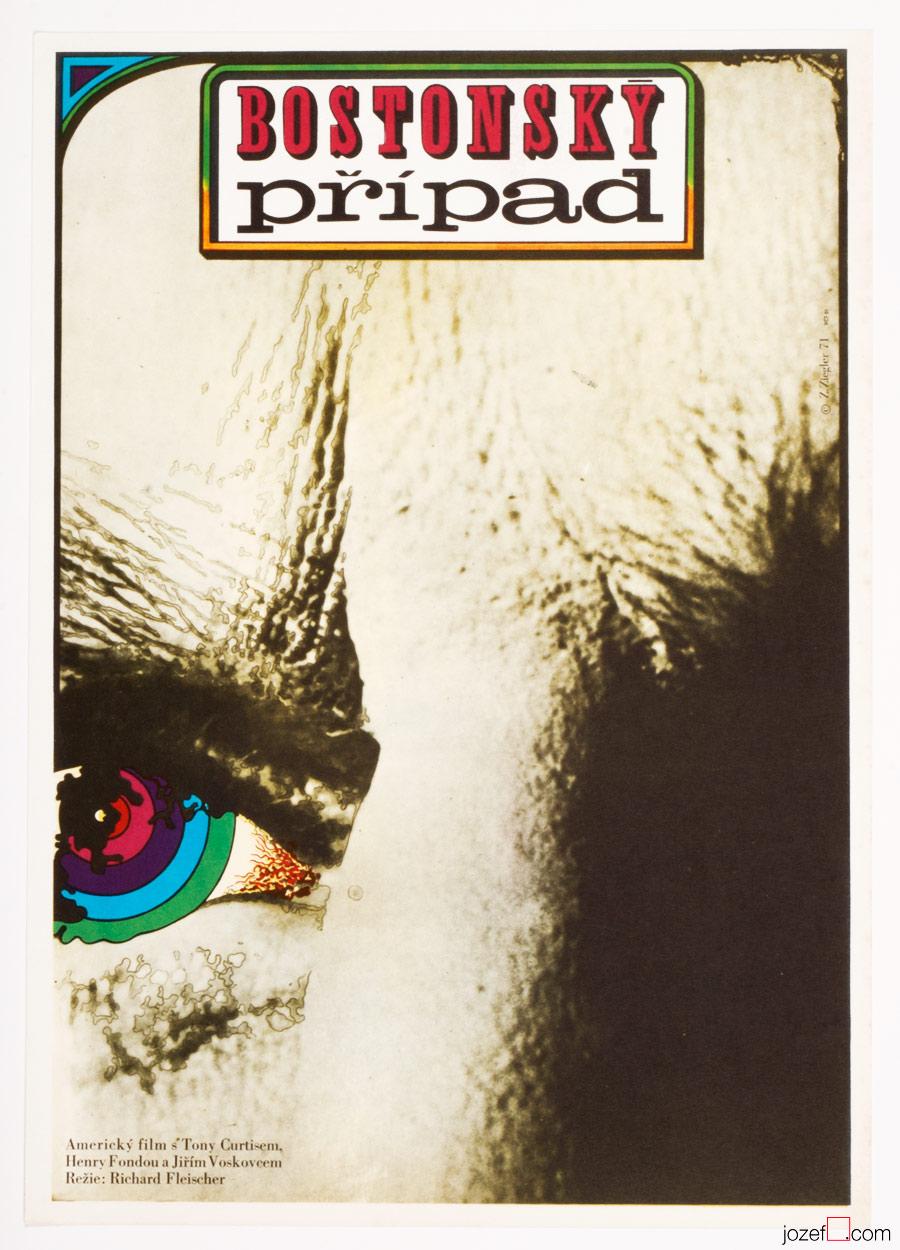 The Boston Strangler, 70s Movie Poster