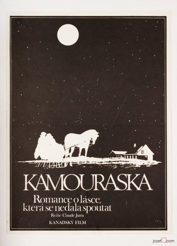 Kamouraska Movie Poster, Minimalist Poster