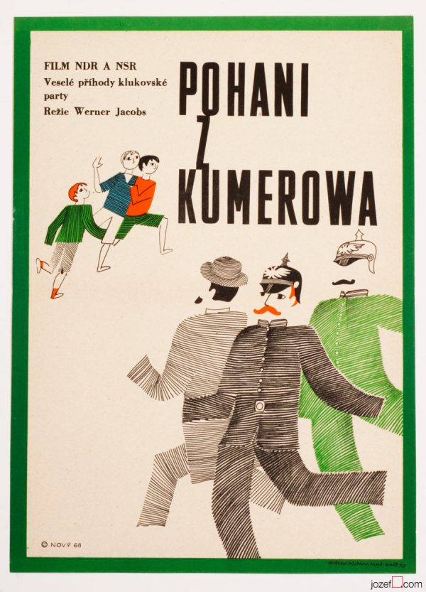 The Heathens of Kummerow Movie Poster, 60s Poster Art