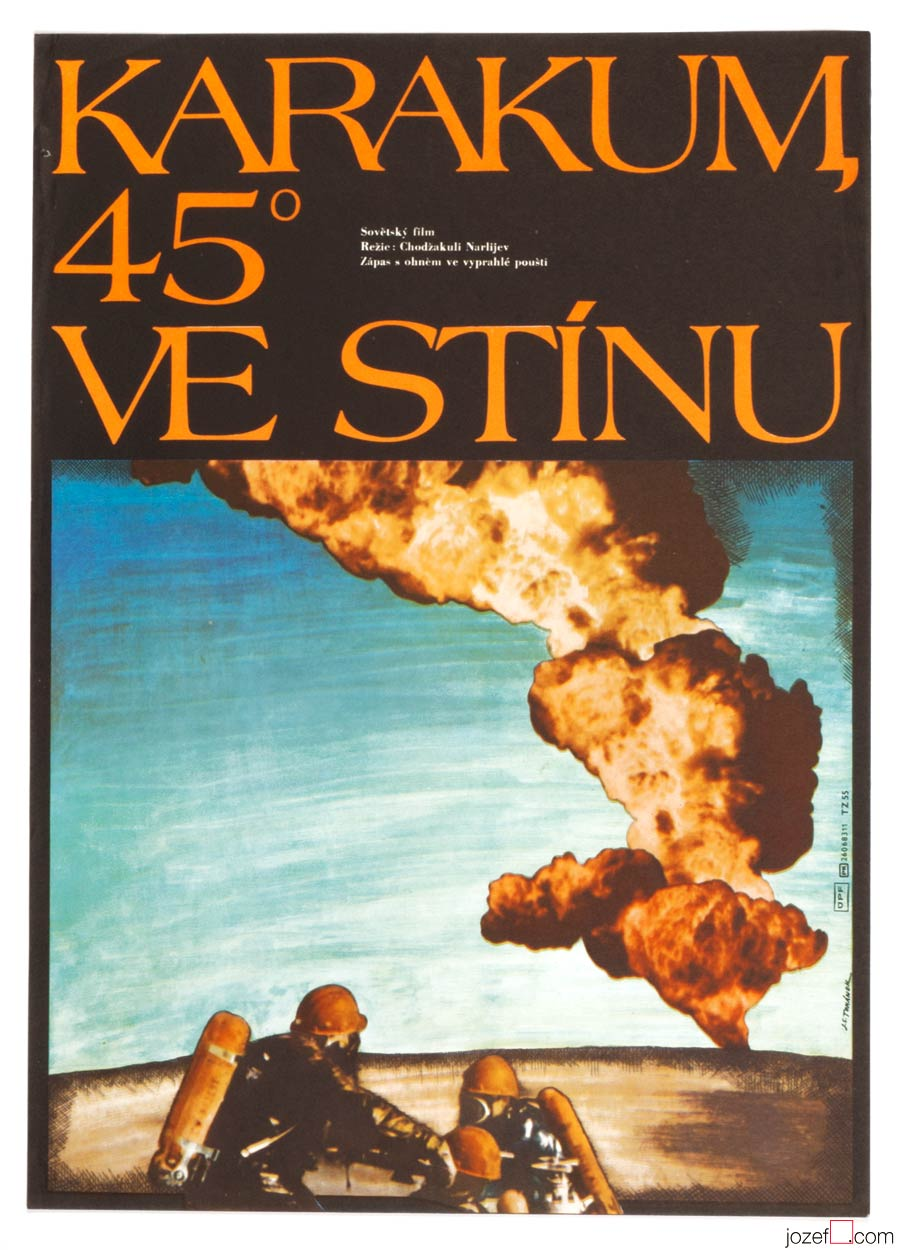 Karakum 45 Degrees in Shadow Movie Poster