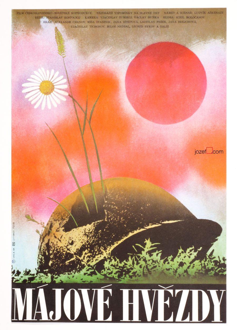 May Stars Movie Poster, Karel Vaca Artwork