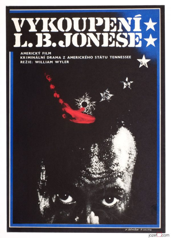 The Liberation of L.B. Jones Movie Poster, 70s Poster Art