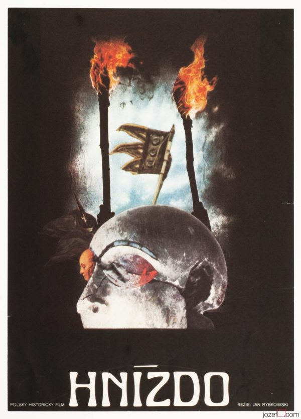 The Nest Movie Poster, Surreal Poster Art