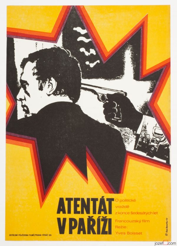 The Assassination Movie Poster, French Cinema