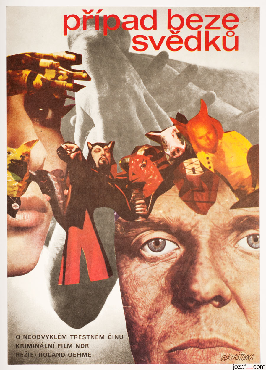 A Case Without Witnesses Movie Poster, Polizeiruf 110 Poster