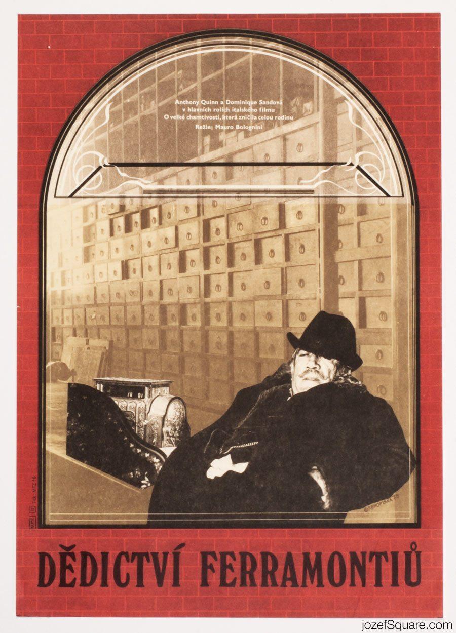 Inheritance Movie Poster, Anthony Quinn Poster