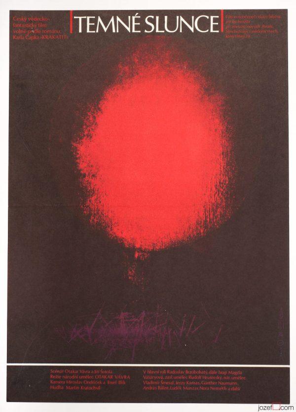 Dark Sun Movie Poster, Sci-fi Poster Art