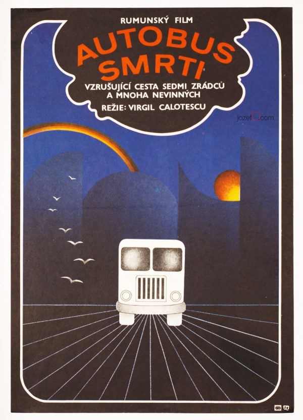 Movie Poster Operation The Bus, Romanian Cinema