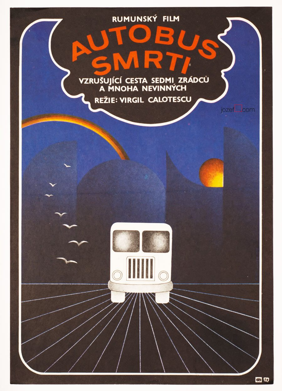 Movie Poster Operation The Bus, Romanian Cinema