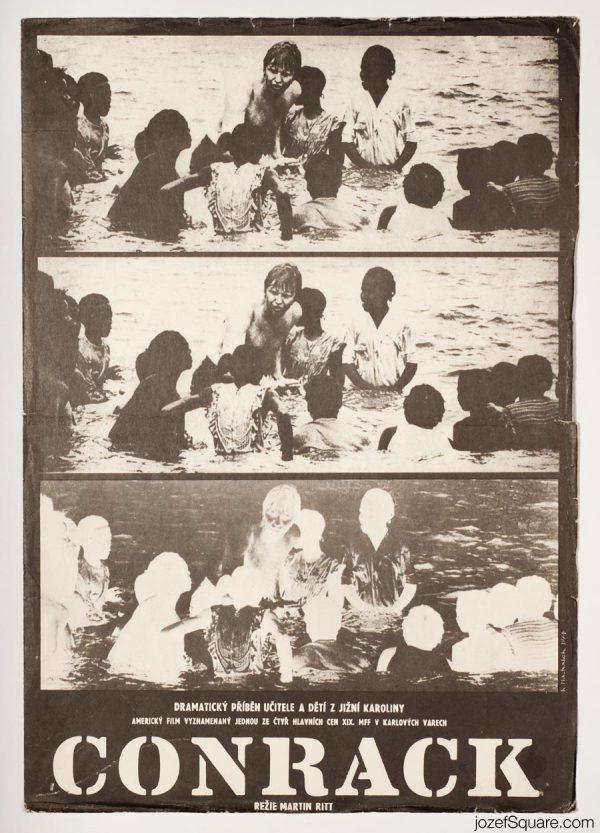 Conrack Movie Poster, Jon Voight, 70s Poster