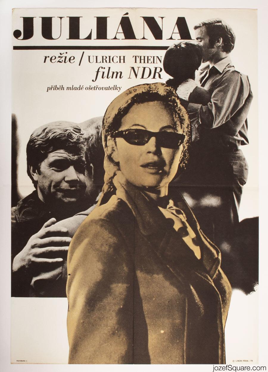 Jule, Julia, Juliane Movie Poster, 70s East German Cinema