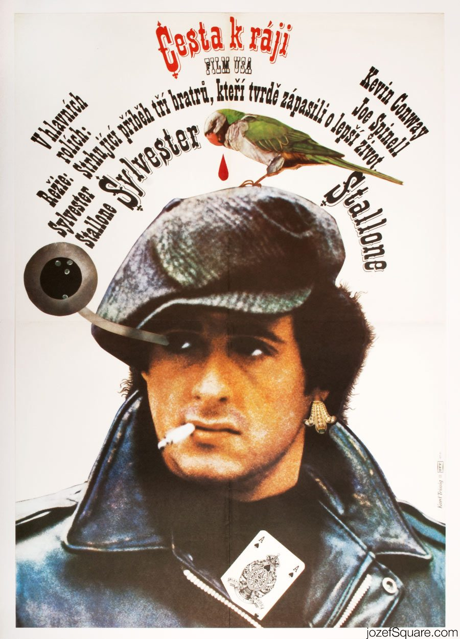 Sylvester Stallone Movie Poster, Paradise Alley