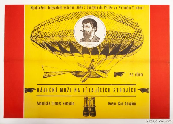 Those Magnificent Men in Their Flying Machines FIlm Poster