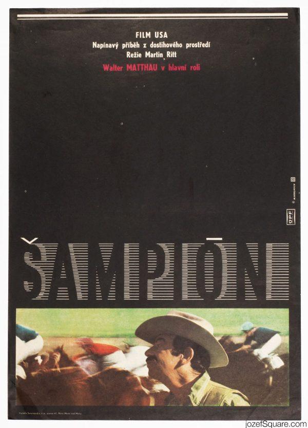 Casey's Shadow Movie Poster, 70s American Cinema