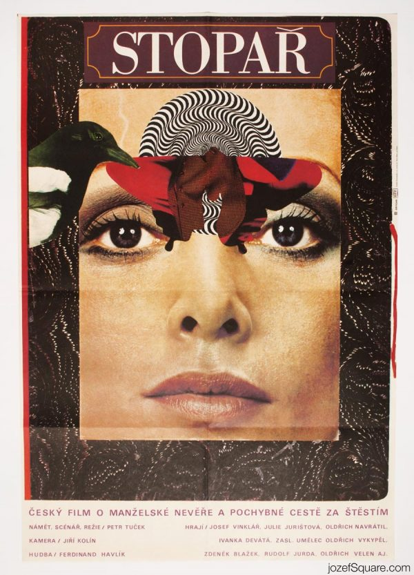The Hitchhiker movie poster, 70s Poster Magic