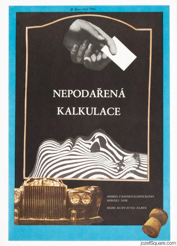 Error in Calculation Movie Poster, East German Crime Drama
