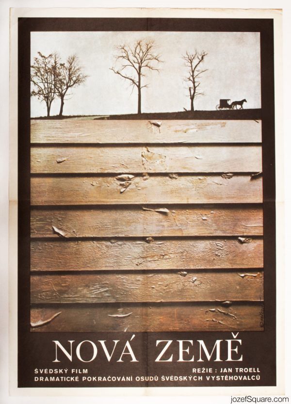 The New Land Movie Poster, 70s Poster Art