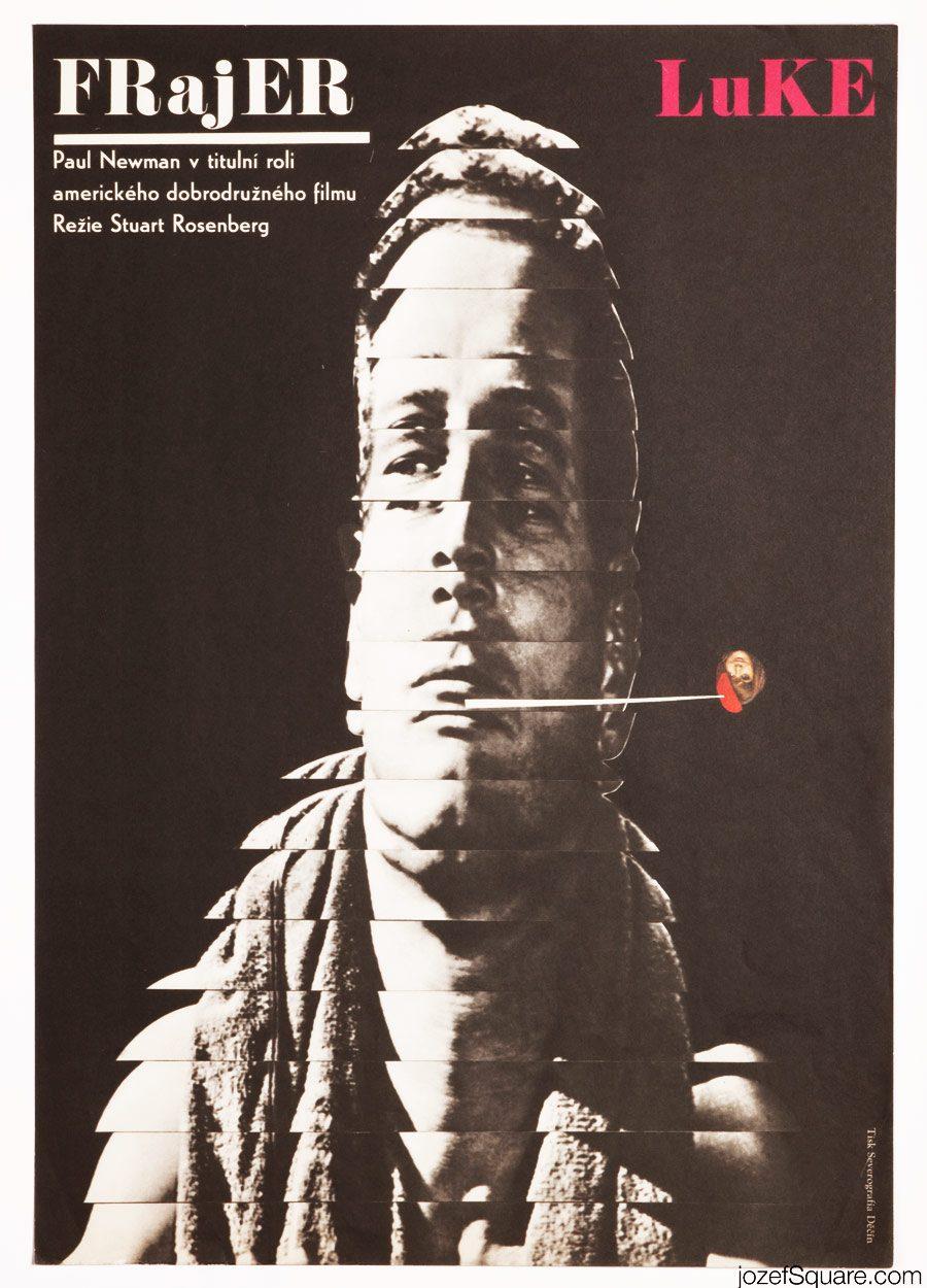 Cool Hand Luke Movie Poster, Paul Newman