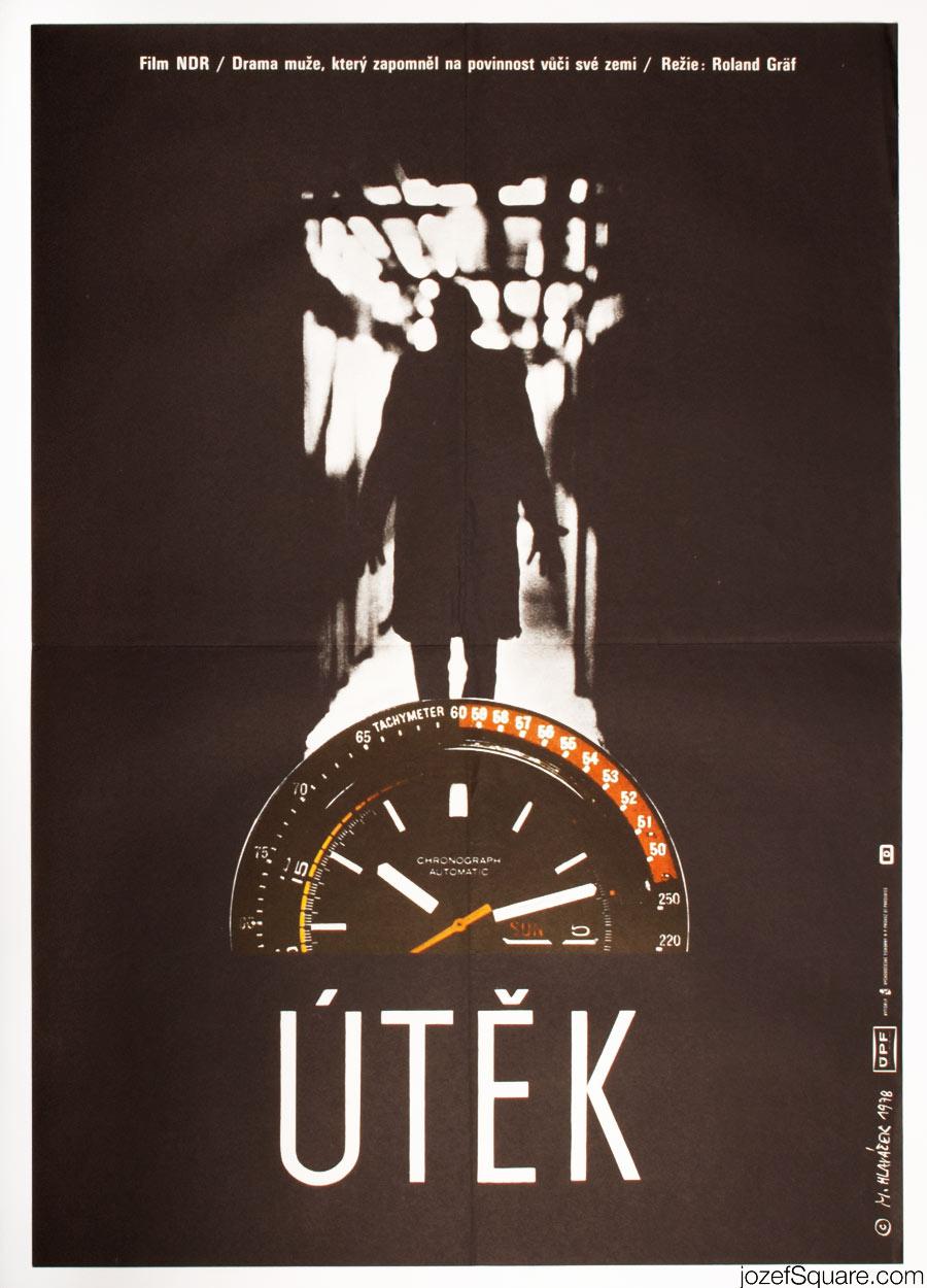 The Flight Movie Poster, East German Cinema