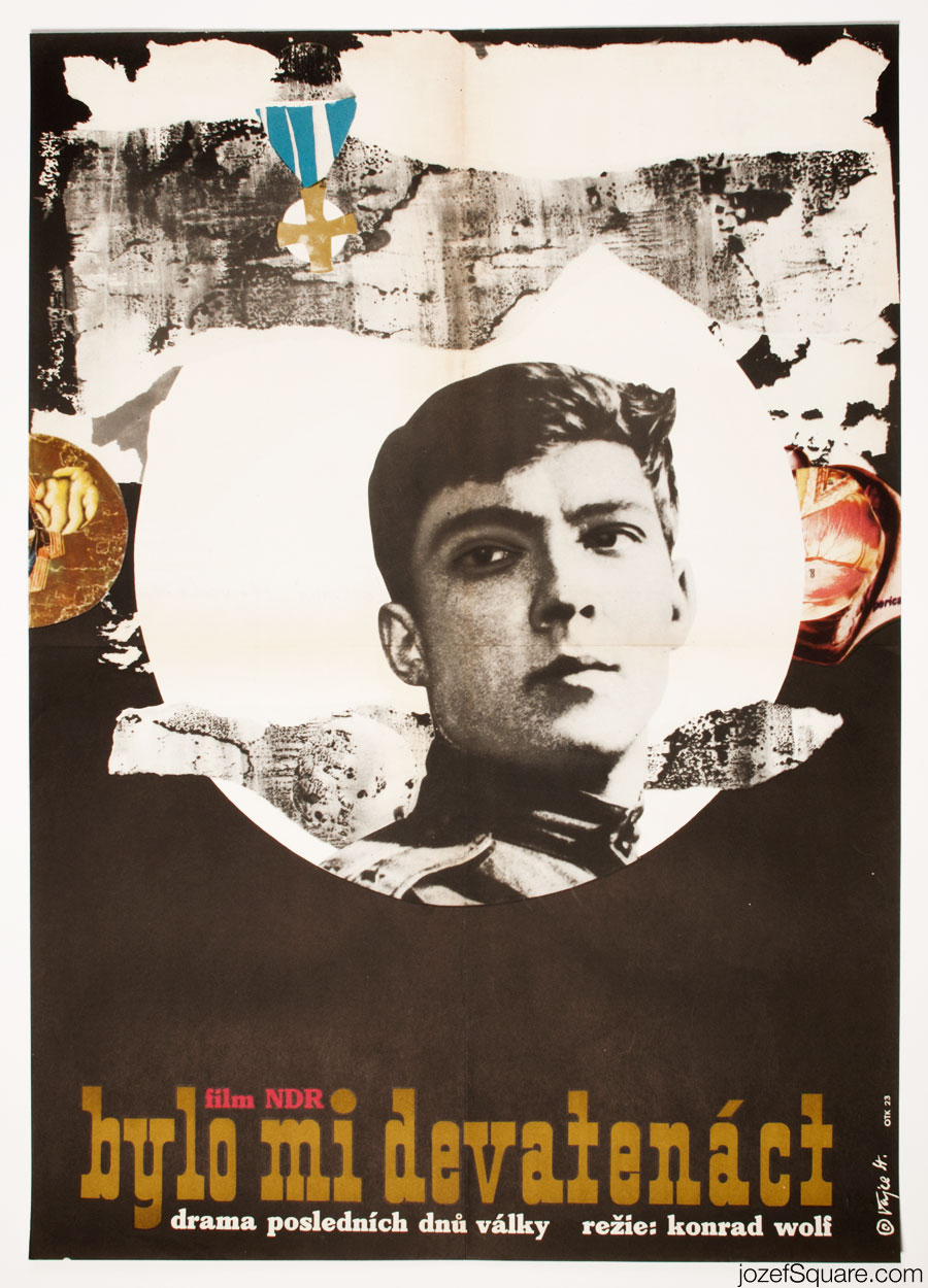 I Was Nineteen Movie Poster, 60s Poster Art