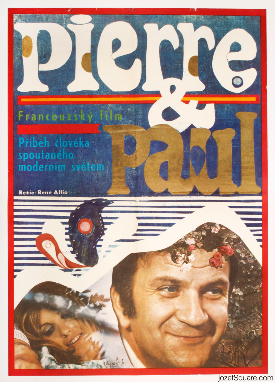 Pierre and Paul Movie Poster, Stanislav Vajce