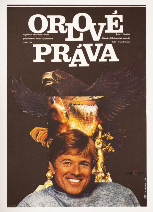 Legal Eagles Movie Poster, Robert Redford