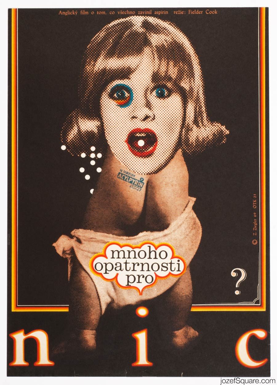 Prudence and the Pill movie Poster, 60s Poster Art